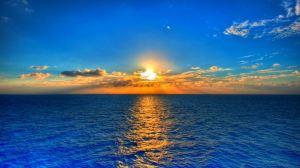 Blue-Sea-Sunset-HD