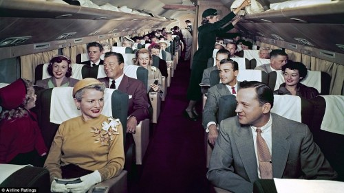 50's airline wear