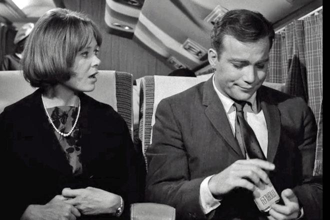 smoking on a flight