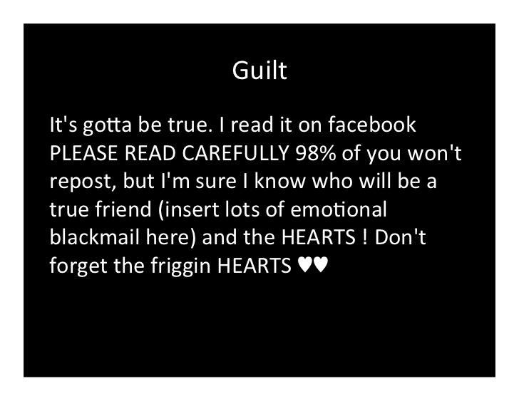 only my true friends facebook