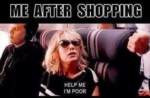 shopping meme