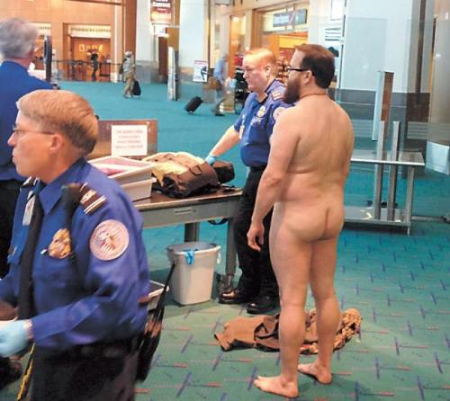 airport security no clothes