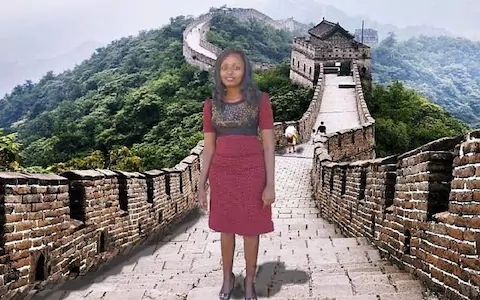 great wall photoshop
