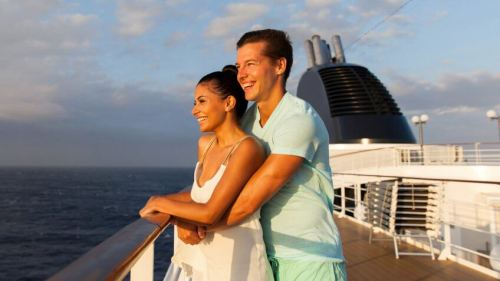 cruise ship couple