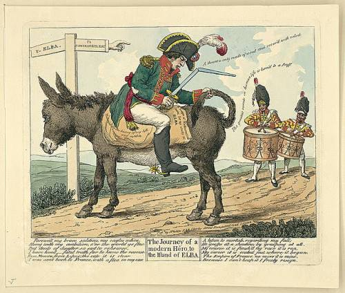 Journey-Modern-Hero-Elba-Napoleon-Caricature