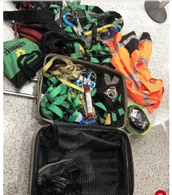 Anna Knight suitcase